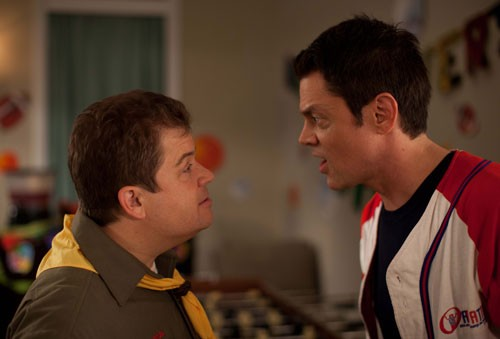 Patton Oswalt and Johnny Knoxville in Nature Calls
