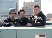 Josh Peck, Josh Hutcherson and Chris Hemsworth in Red Dawn