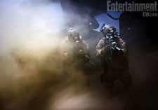 Navy SEALs fight through a dust storm in the quest for bin Laden