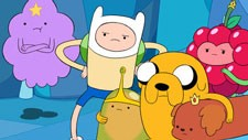 Finn, Jake, and Princesses in Adventure Time