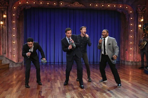 Jimmy Fallon Sings Theme Songs