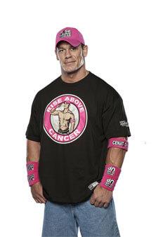 John Cena Supports Susan G Komen