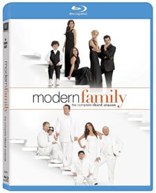 Modern Family Season 3 Blu-Ray