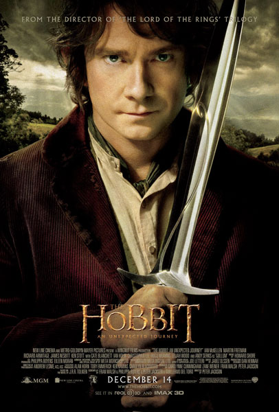 The Hobbit An Unexpected Journey Bilbo Poster