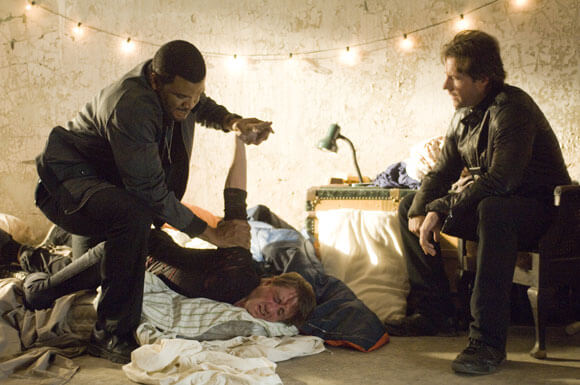 Tyler Perry and Edward Burns in 'Alex Cross'