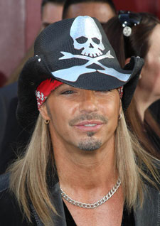 Bret Michaels at the 'Rock of Ages' Premiere
