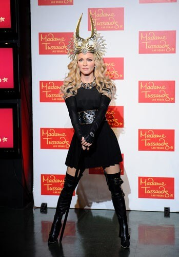 Madame Tussauds Las Vegas Madonna Figure