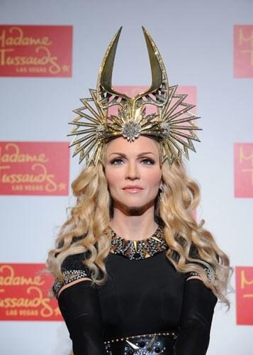 Madonna at Madame Tussauds
