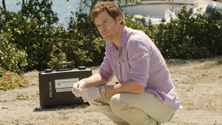 Michael C Hall in Dexter