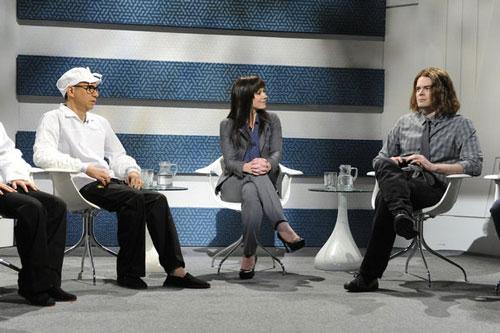 Fred Armisen, Christina Applegate, Bill Hader on SNL