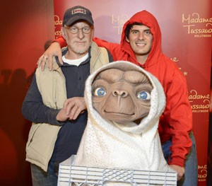 Steven Spielberg and ET