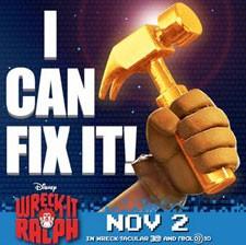 Wreck It Ralph Hammer