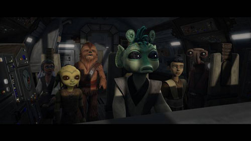Star Wars The Clone Wars Bound for Rescue