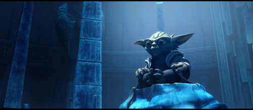 Yoda in Star Wars The Clone Wars