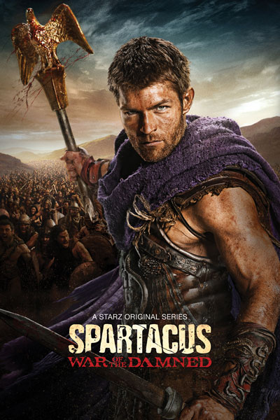 Spartacus War of the Damned Key Art