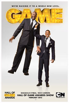 Shaquille O'Neal and Nick Cannon Host Game Awards