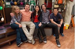 A scene from iCarly