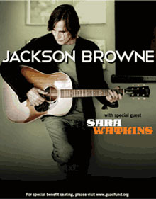 Jackson Browne 2013 Tour