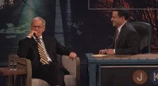 David Letterman on Jimmy Kimmel