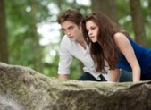 Rob Pattinson and Kristen Stewart in Breaking Dawn 2