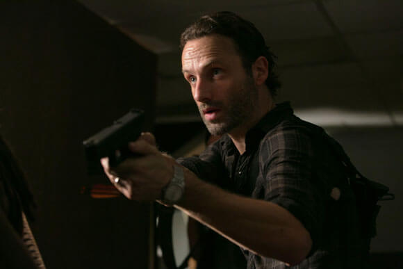 Rick Grimes (Andrew Lincoln) in 'The Walking Dead'