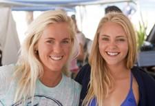 Bethany Hamilton and AnnaSophia Robb