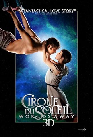 Cirque du Soleil Poster - Trapeze