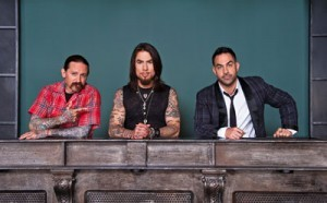 Oliver Peck, Dave Navarro and Chris Nunez on Ink Master