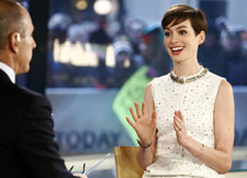 Anne Hathaway on Today