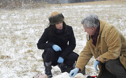 Neve Campbell stars in 'An Amish Murder'