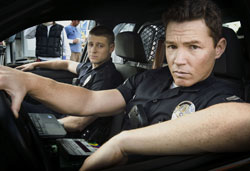Ben McKenzie and Shawn Hatosy in Southland