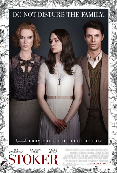 Stoker Theatrical Poster