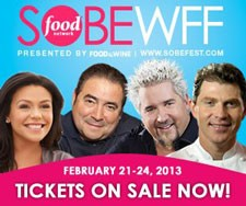 2013 South Beach Food and Wine Festival
