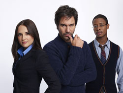 Rachael Leigh Cook, Eric McCormack, and Arjay Smith star in Perception