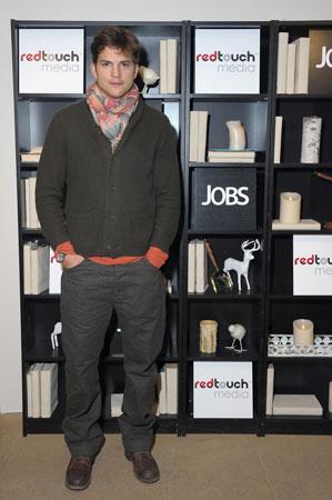 Ashton Kutcher from jOBS