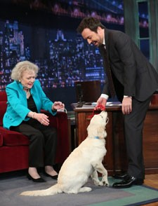 Betty White on Jimmy Fallon