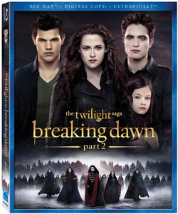 Twilight Breaking Dawn Part 2 DVD