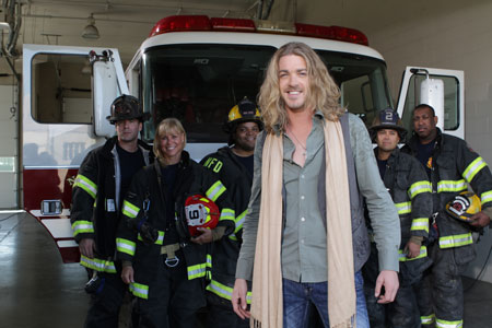 Bucky Covington and Nashville Fire Fighters