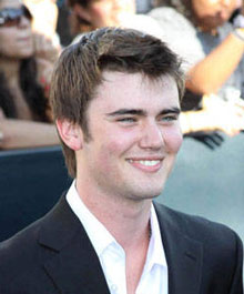 Cameron Bright at the Eclipse Premiere in LA