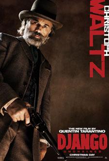 Christoph Waltz Django Unchained Poster