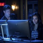 Matt Davis and Jessica Lucas in 'Cult'