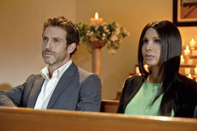 David Julian Hirsh and Toni Braxton in 'Twist of Faith'