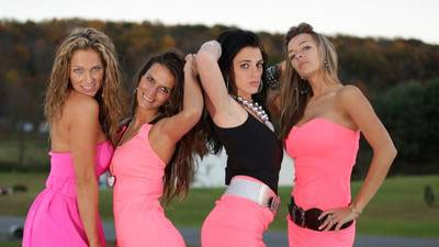 Nettie, Laura, Mellie and Kayla in 'Gypsy Sisters'