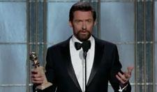 Hugh Jackman 2013 Golden Globes Speech