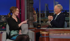 Jennifer Lawrence on David Letterman