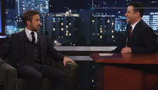 Ryan Gosling on Jimmy Kimmel Live