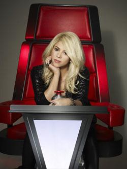 Shakira on 'The Voice'