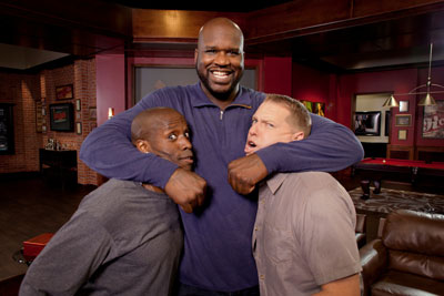 Godfrey, Shaquille O'Neal and Gary Owen
