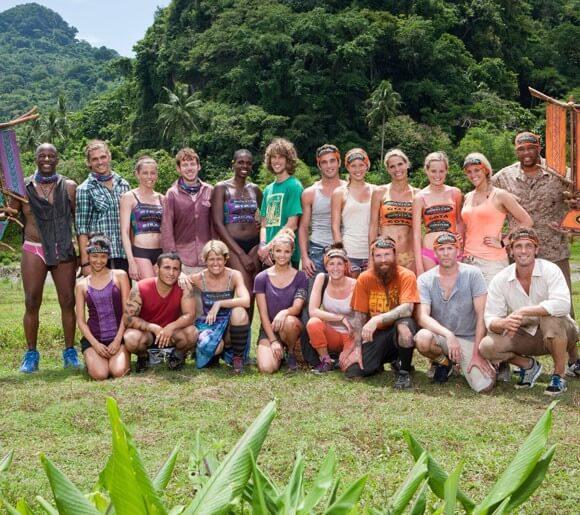 The cast of Survivor: Caramoan