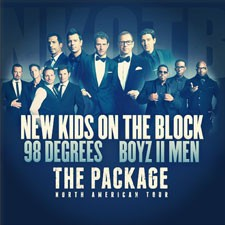 New Kids, 98 Degrees and Boyz II Men The Package Tour